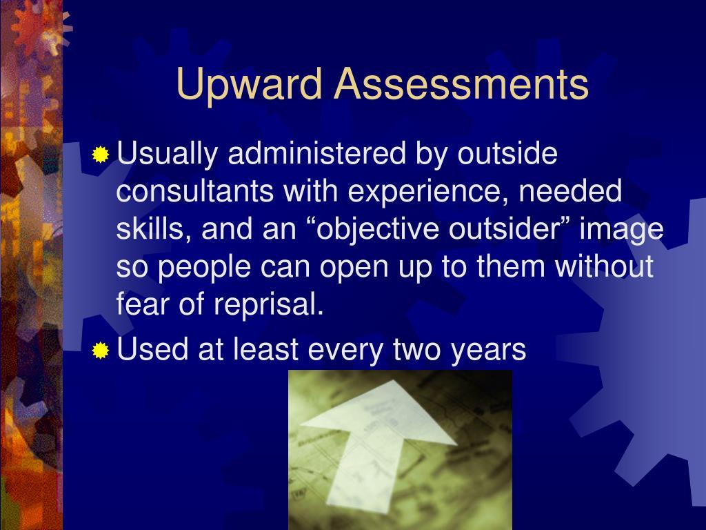 Upward Assessments