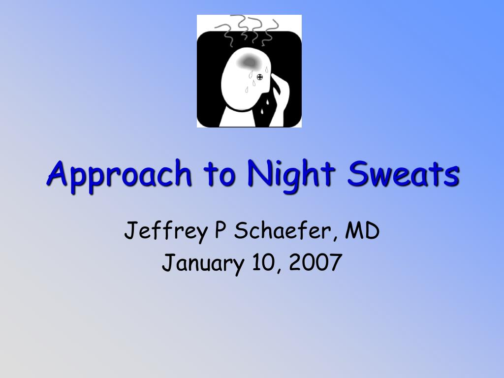 approach to night sweats