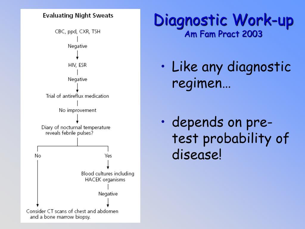 Diagnostic Work-up