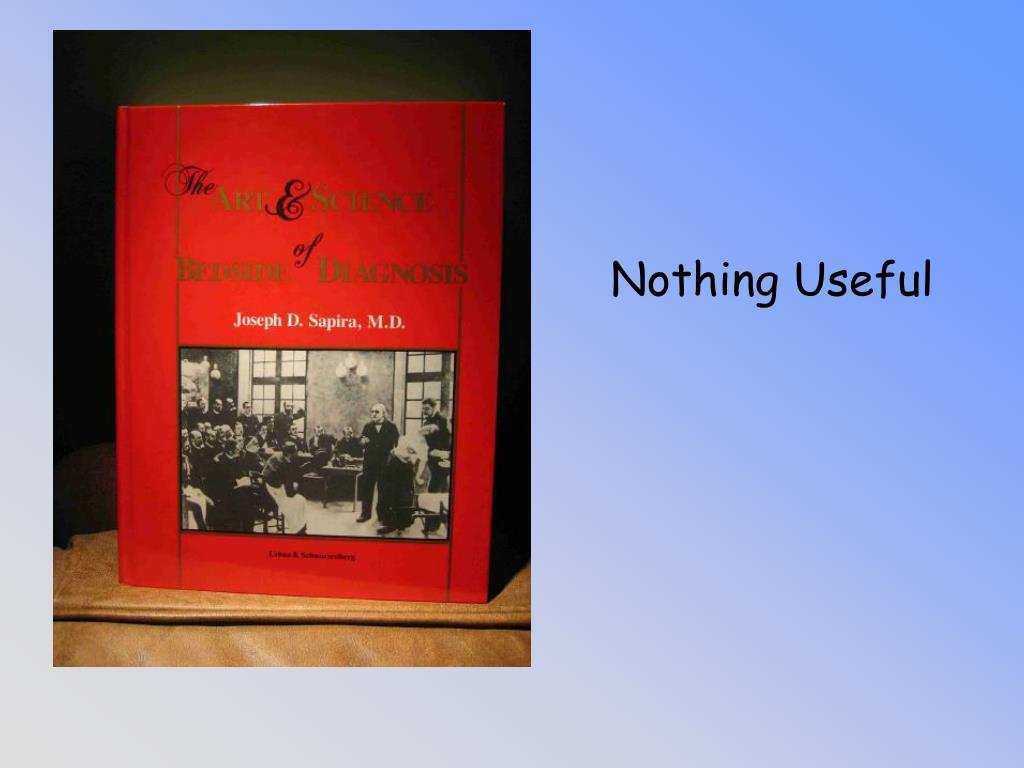 Nothing Useful