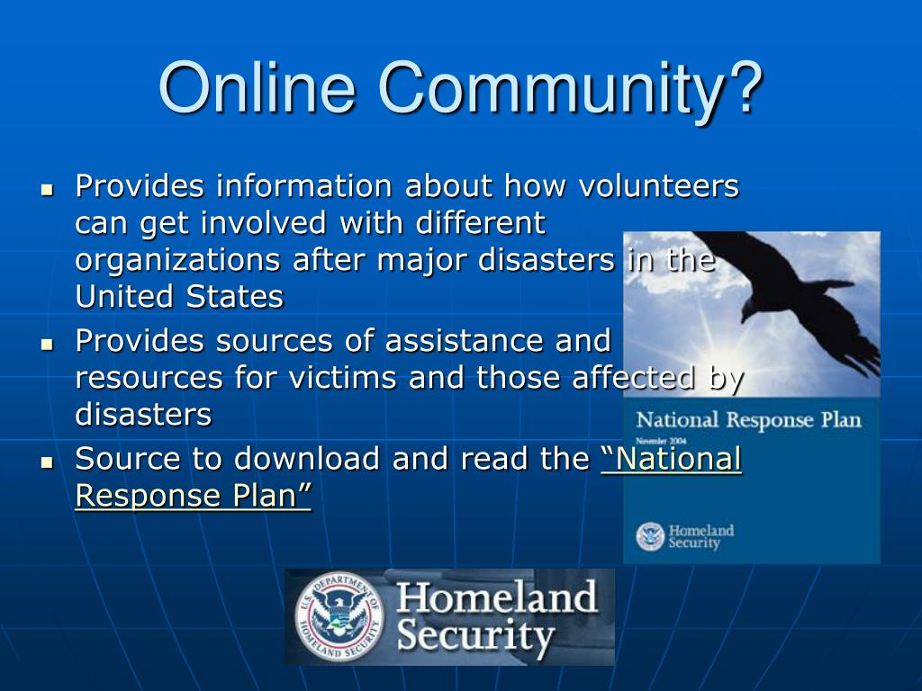 Online Community?