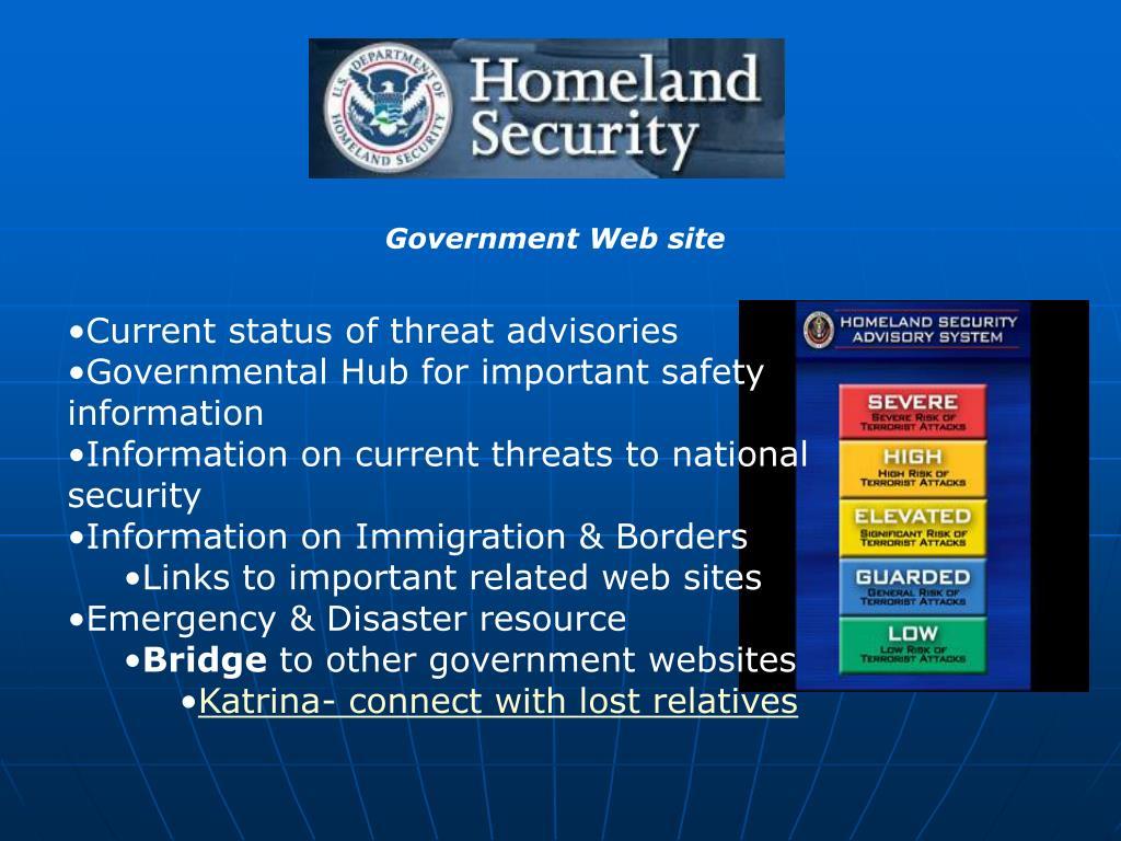 Government Web site