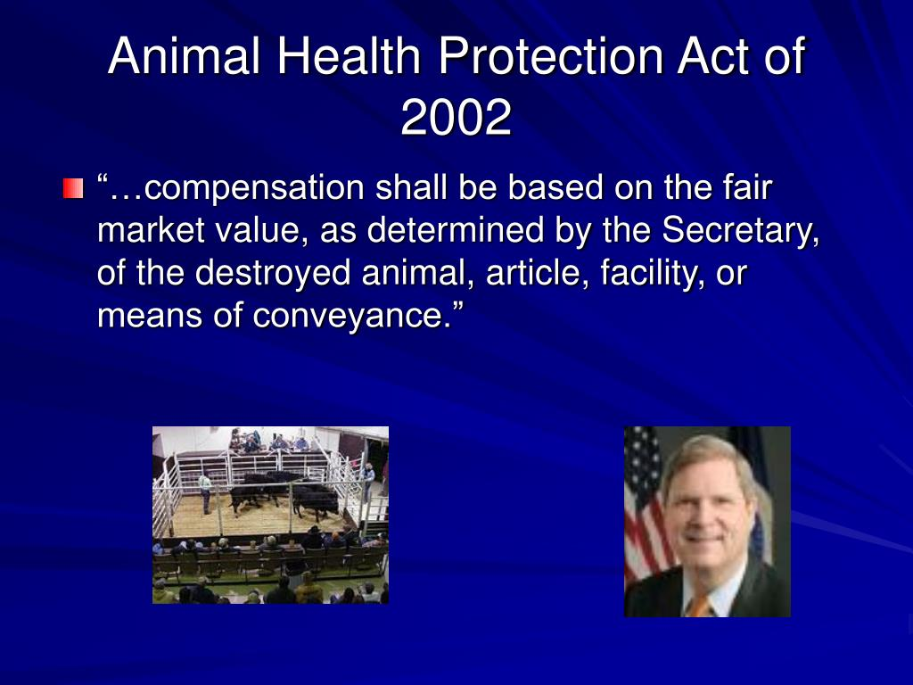 Animal Health Protection Act of 2002