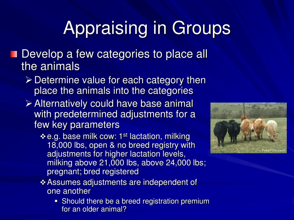 Appraising in Groups