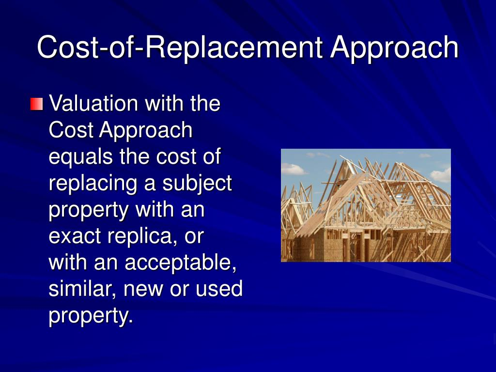Cost-of-Replacement Approach
