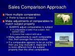 sales comparison approach18
