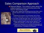 sales comparison approach8