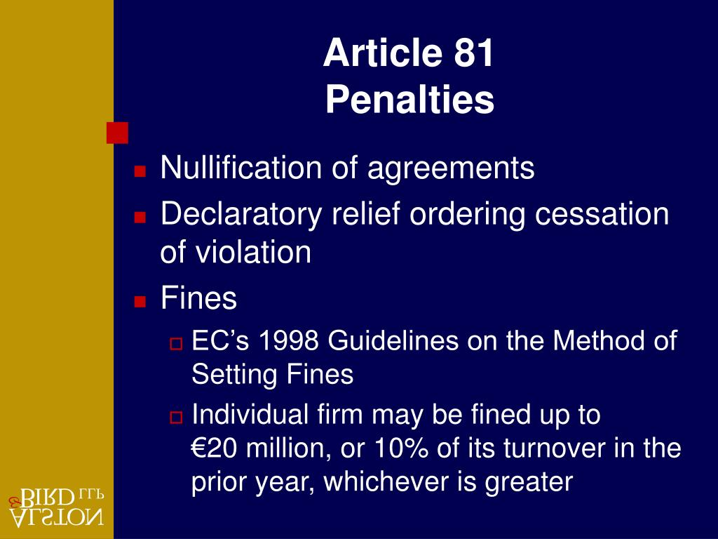 Article 81