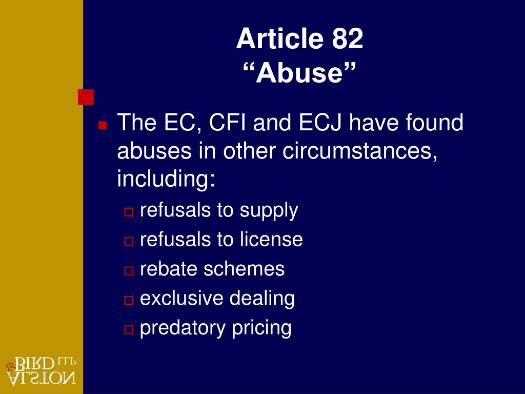 Article 82
