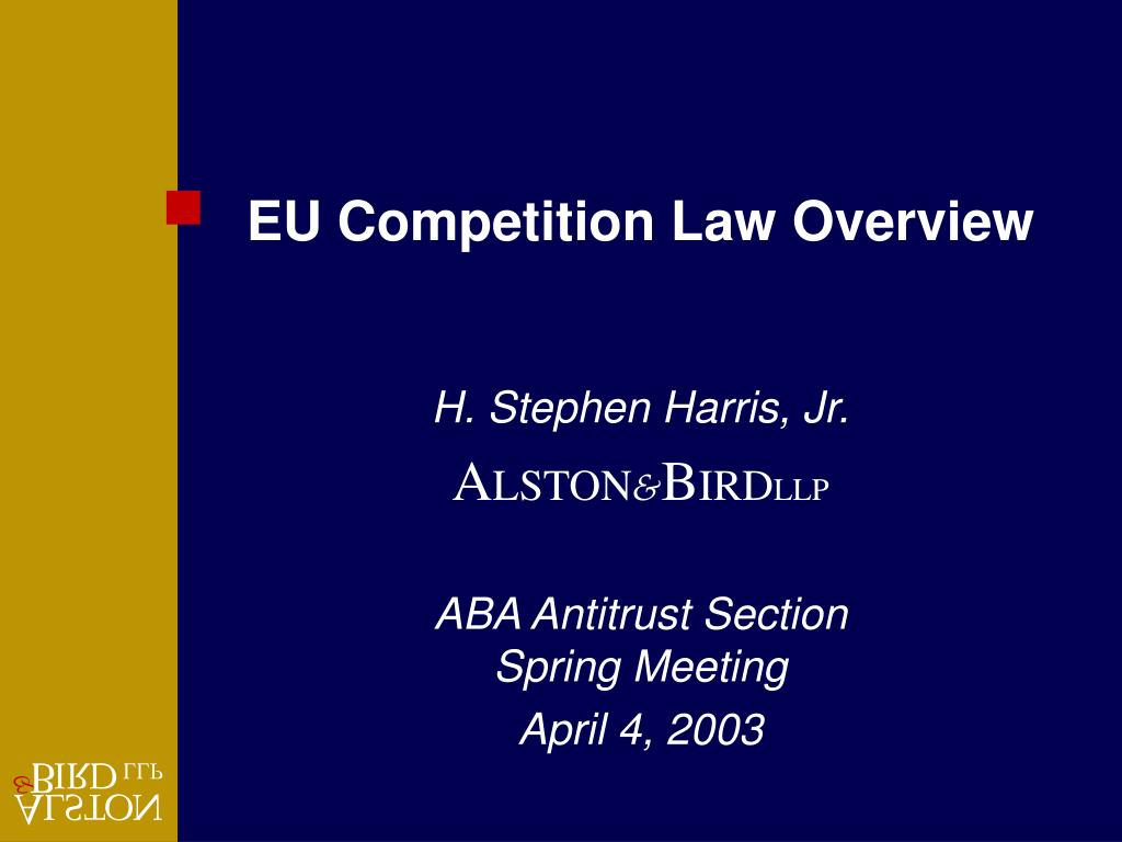 EU Competition Law Overview