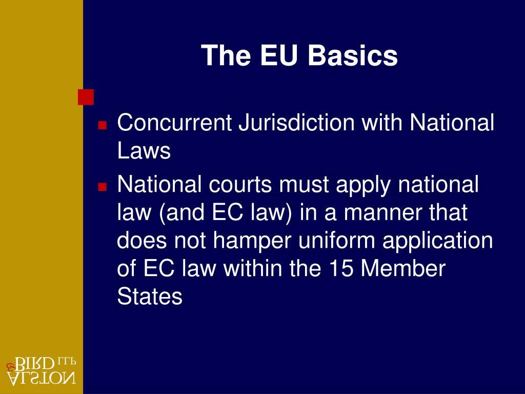The EU Basics