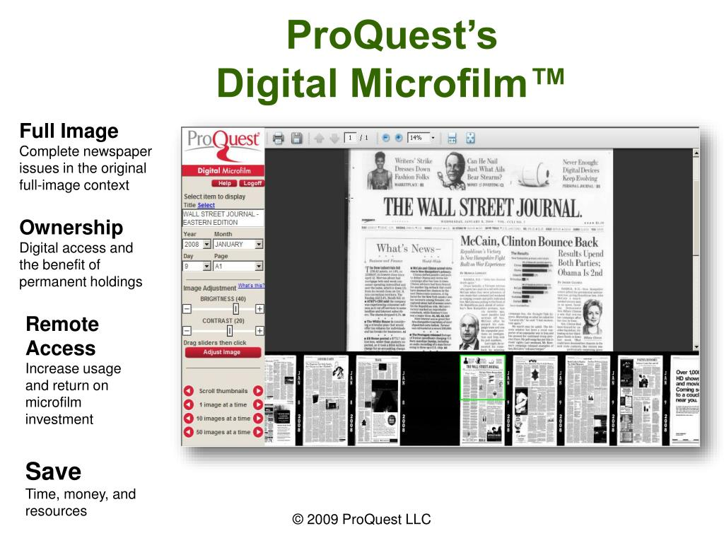 ProQuest's