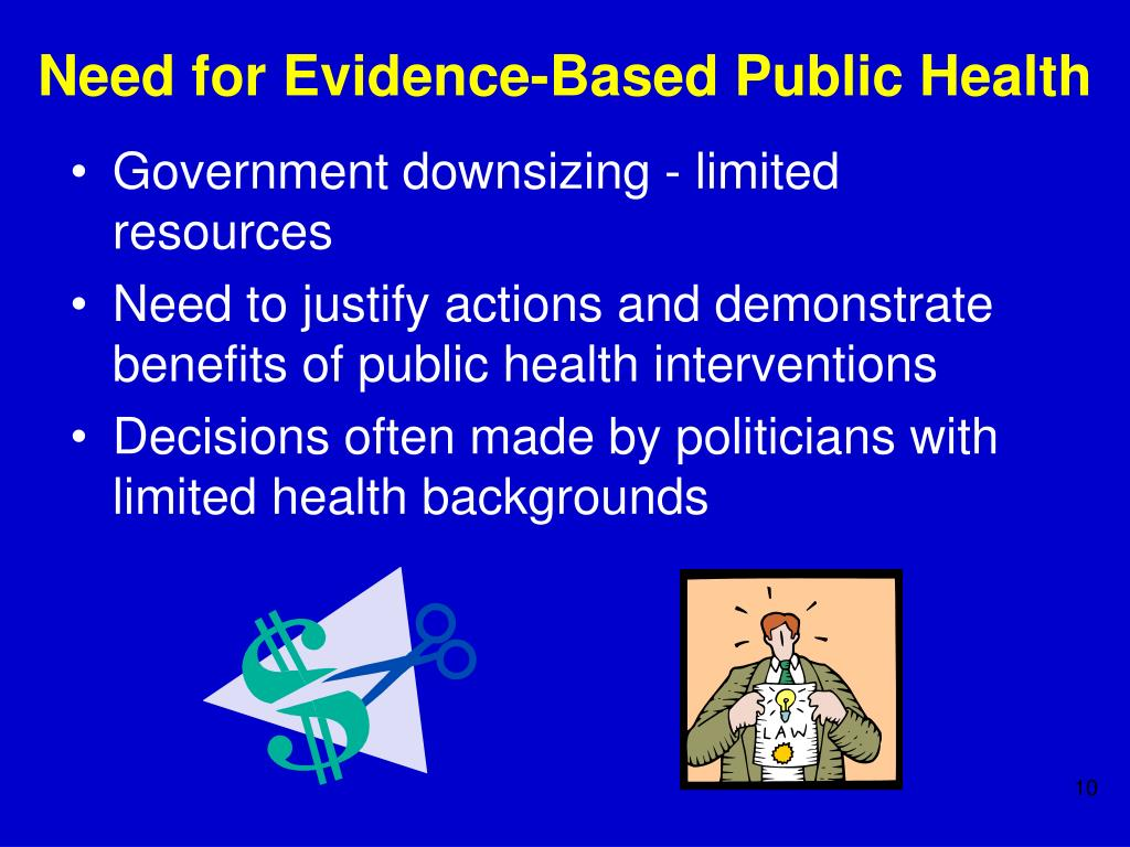 Need for Evidence-Based Public Health