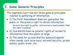 i some general principles