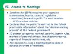 vi access to meetings