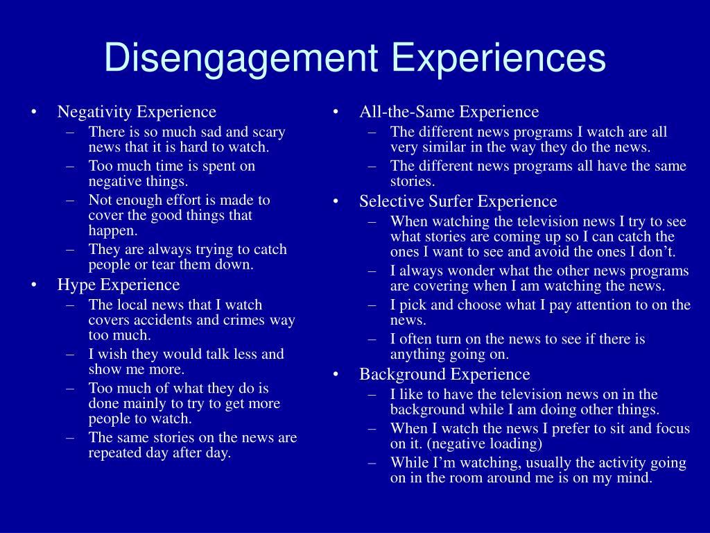 Negativity Experience