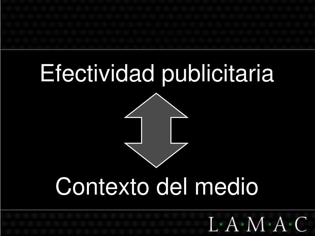 Efectividad publicitaria