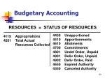budgetary accounting53