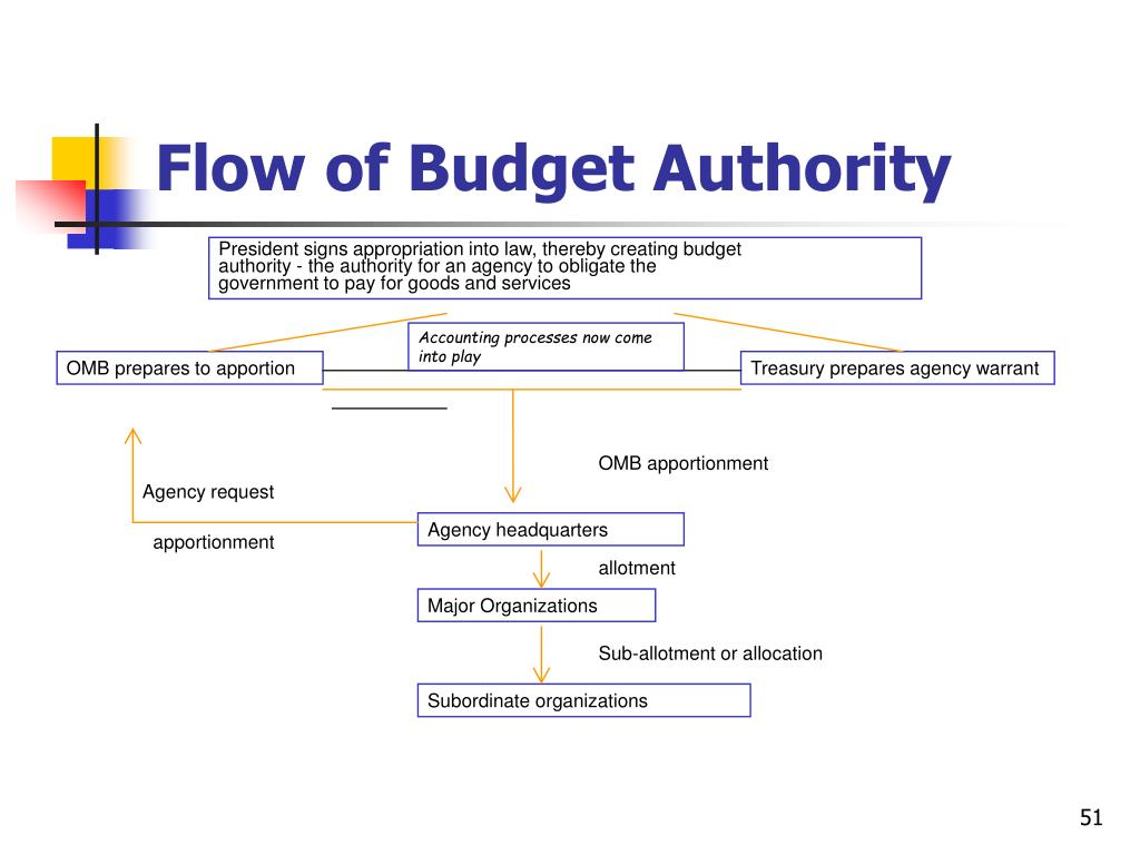 Flow of Budget Authority