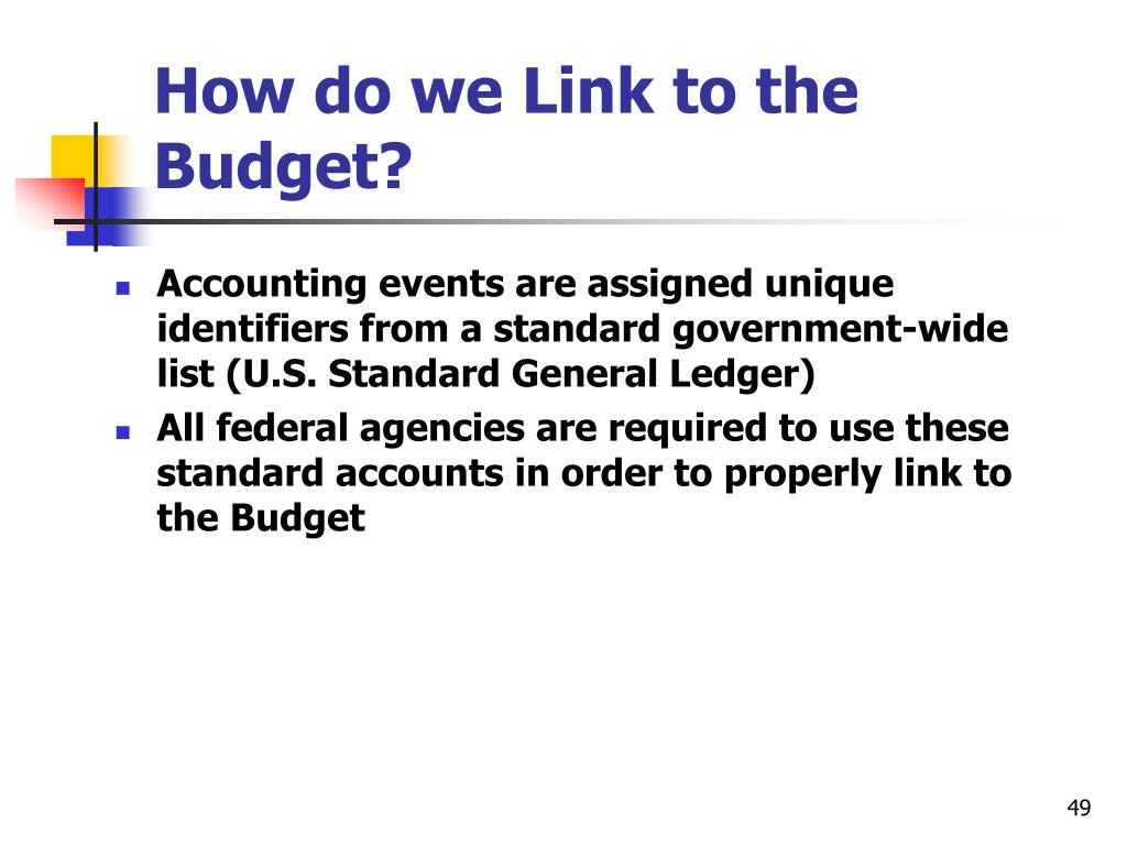 How do we Link to the Budget?