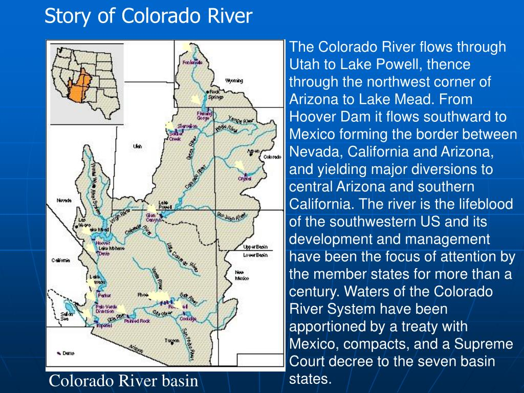 Story of Colorado River
