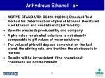 anhydrous ethanol ph31