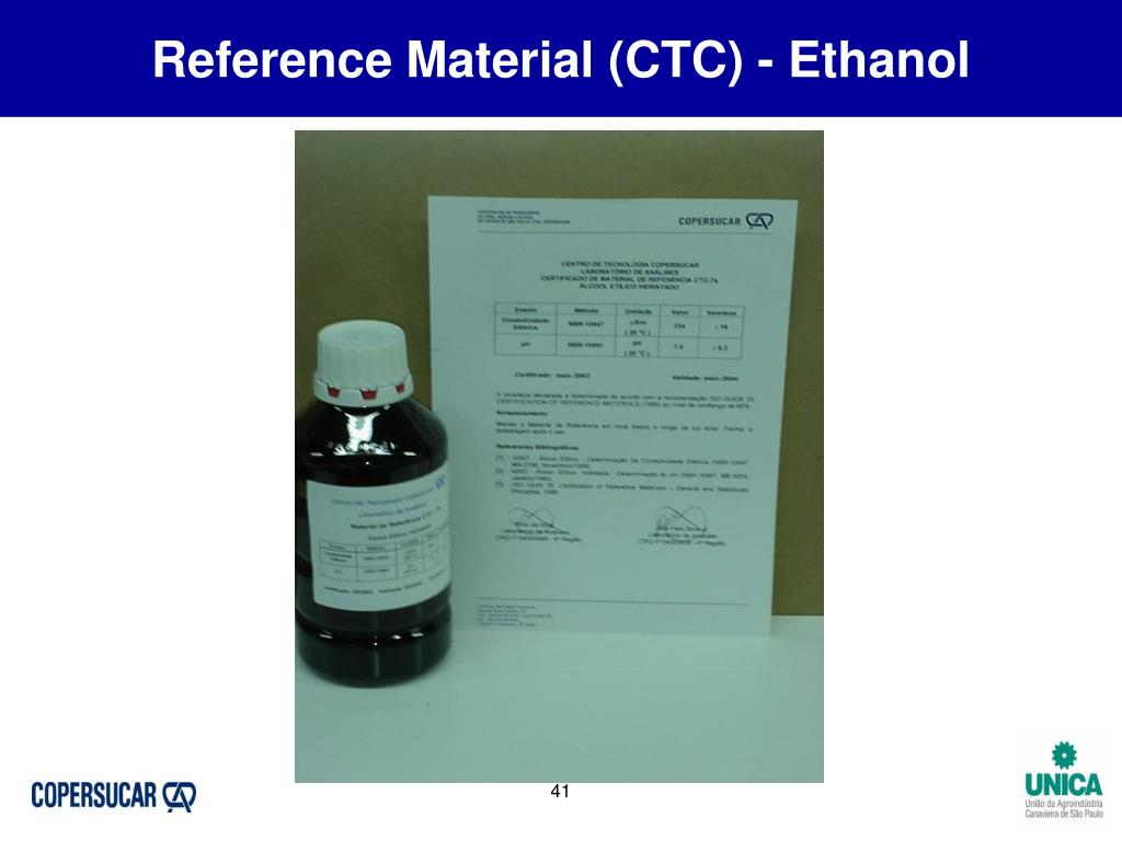 Reference Material (CTC) - Ethanol