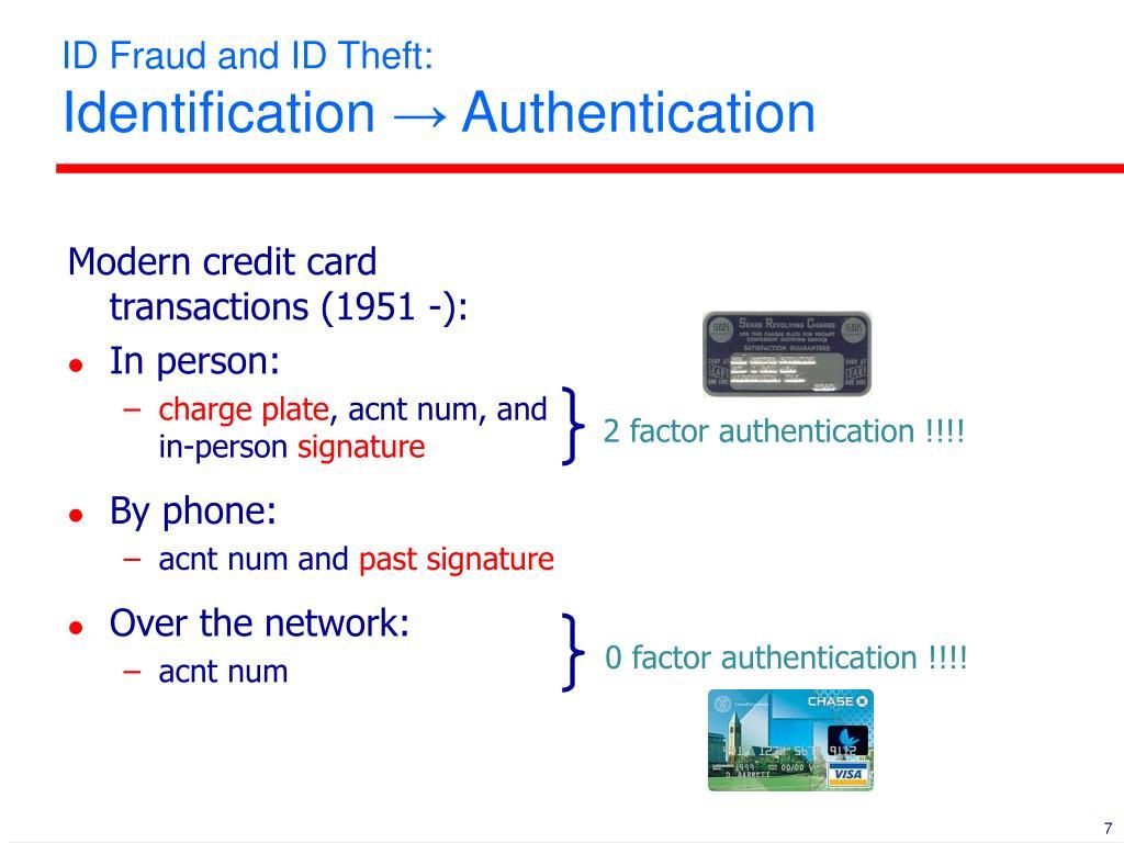 2 factor authentication !!!!