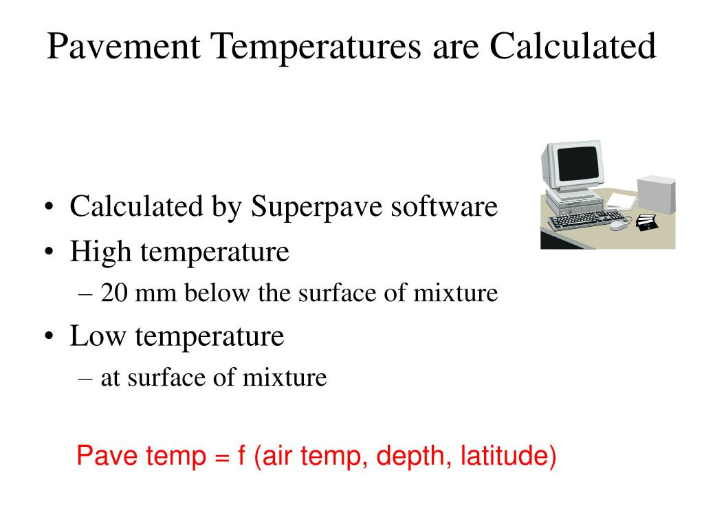 Pavement Temperatures are Calculated