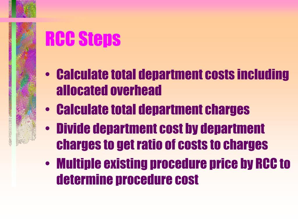 RCC Steps