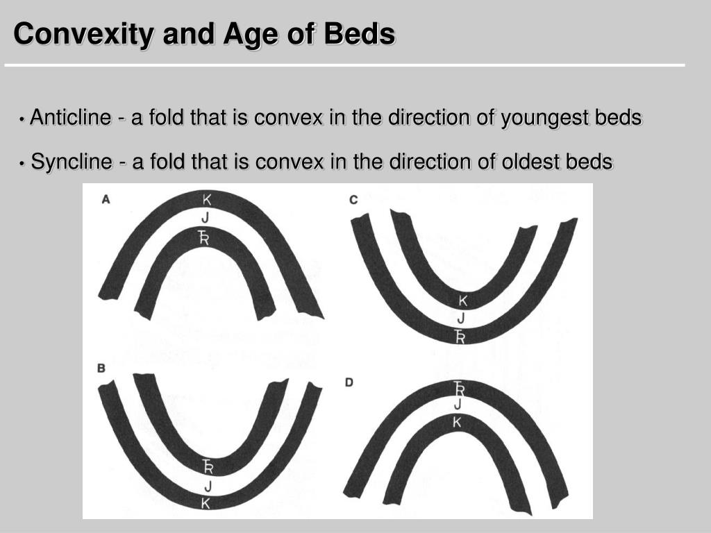 Convexity and Age of Beds