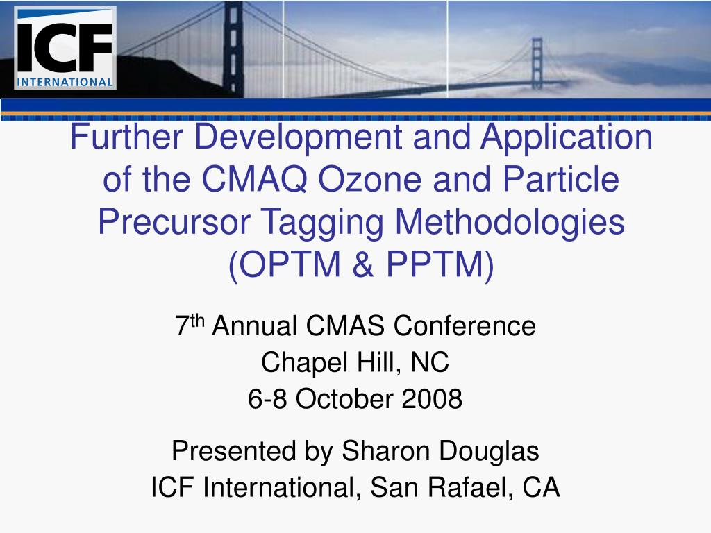 Further Development and Application of the CMAQ Ozone and Particle Precursor Tagging Methodologies (OPTM & PPTM)