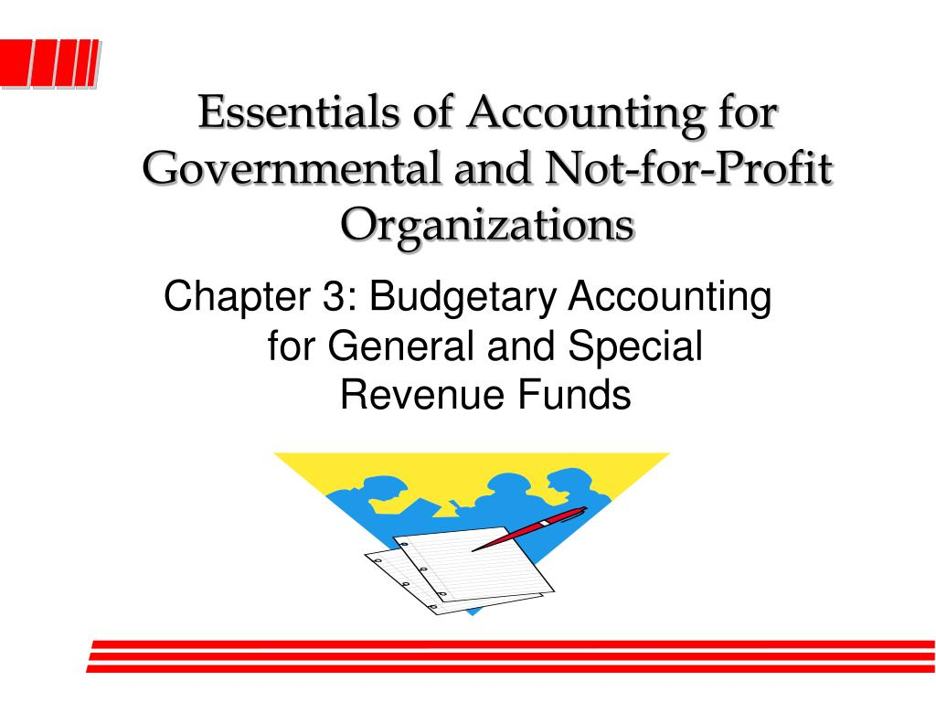 essentials of accounting for governmental and not for profit organizations