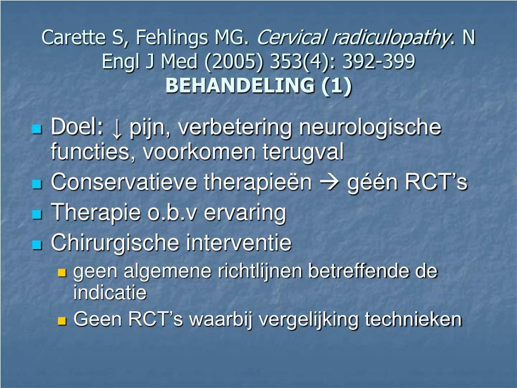 Carette S, Fehlings MG.