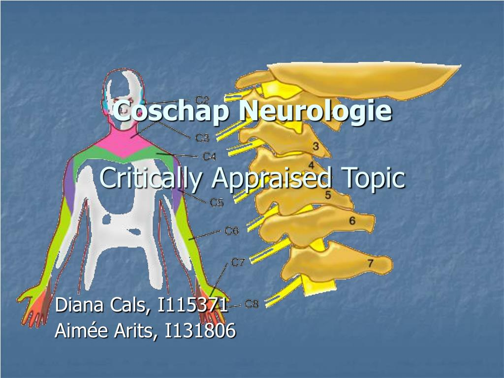 coschap neurologie critically appraised topic
