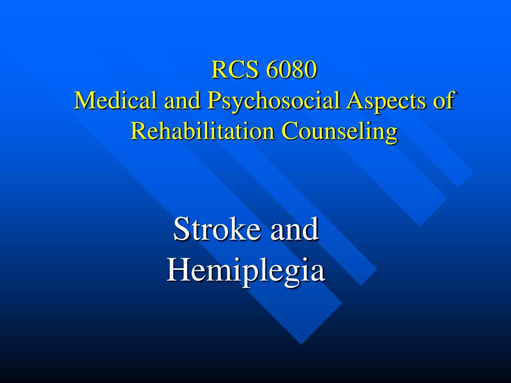 rcs 6080 medical and psychosocial aspects of rehabilitation counseling