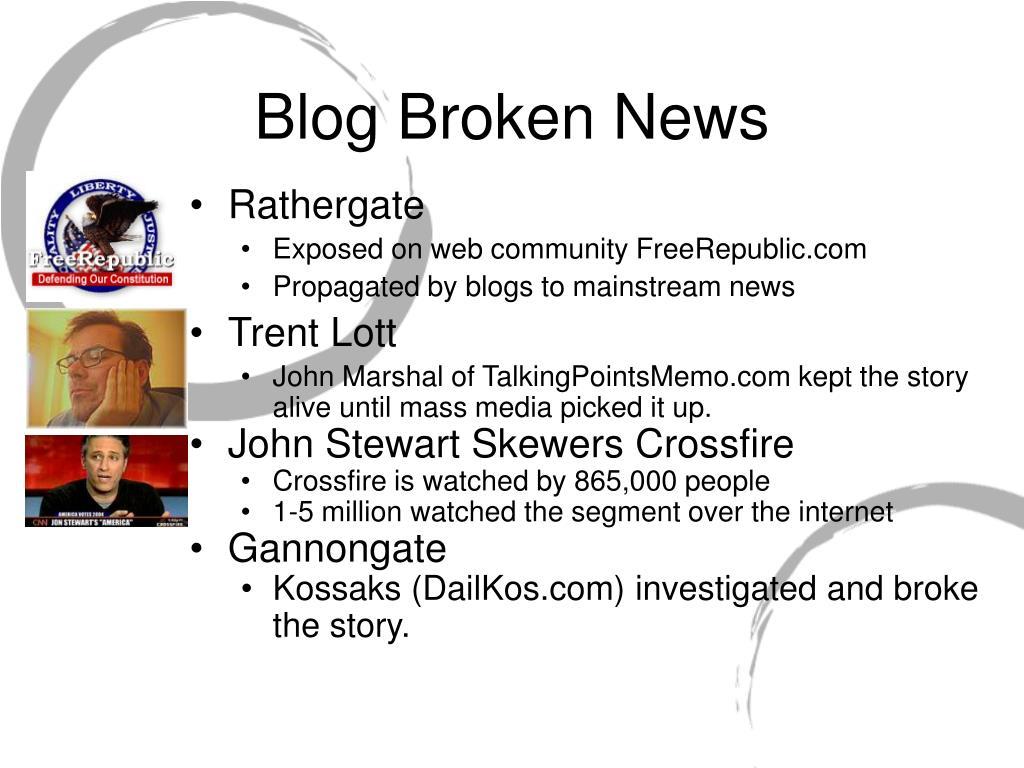Blog Broken News