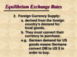 equilibrium exchange rates5