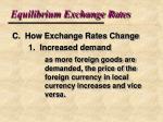 equilibrium exchange rates7