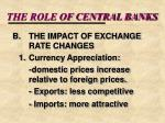 the role of central banks15