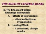 the role of central banks19