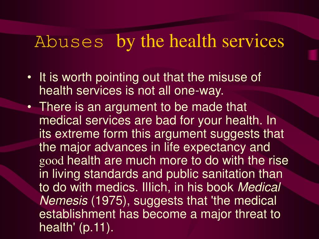 Abuses