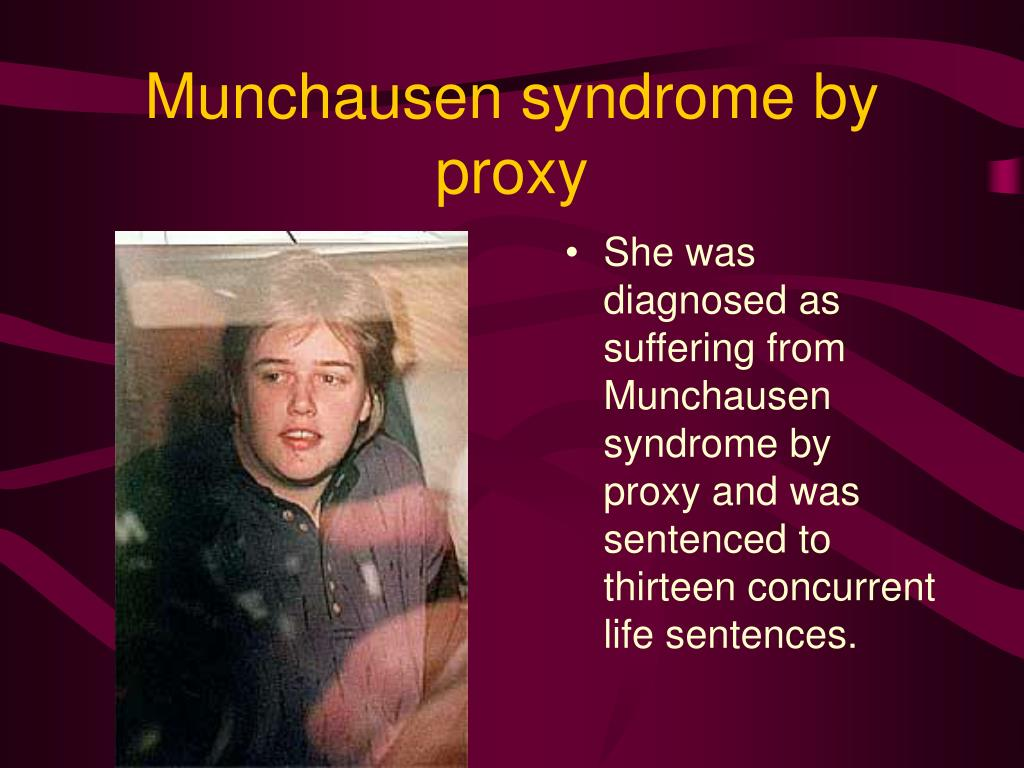 Munchausen syndrome by proxy