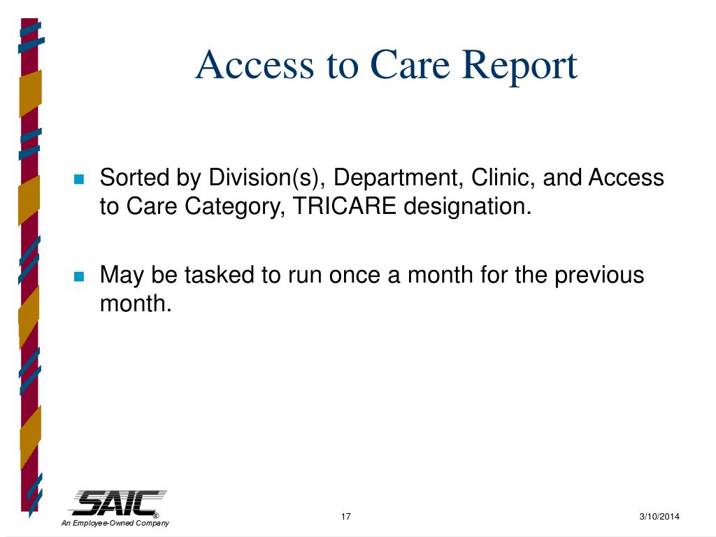 Access to Care Report