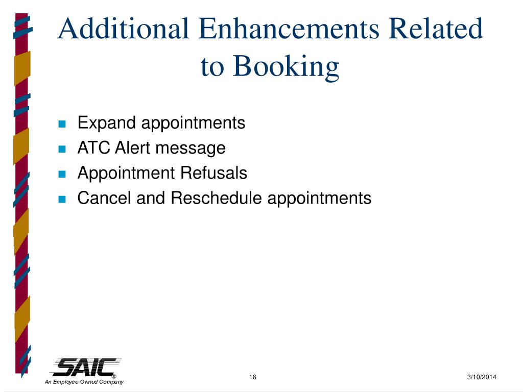 Additional Enhancements Related