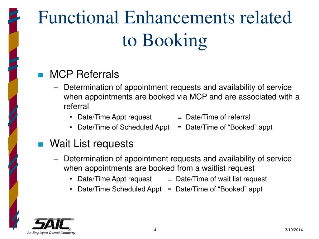 Functional Enhancements related