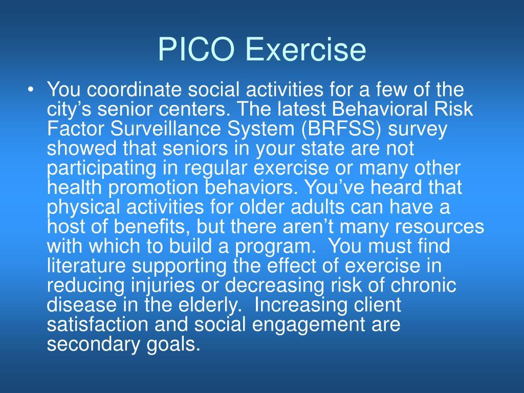 PICO Exercise