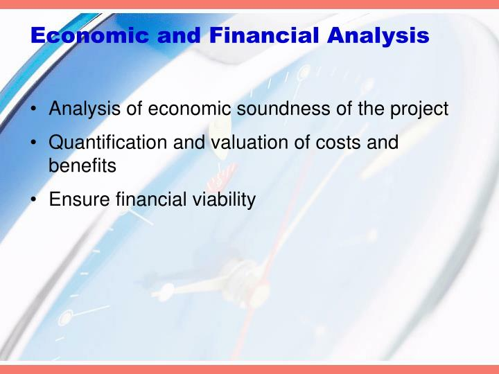 Economic and Financial Analysis