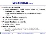 data structure cont d