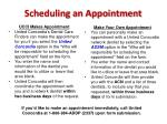 scheduling an appointment6